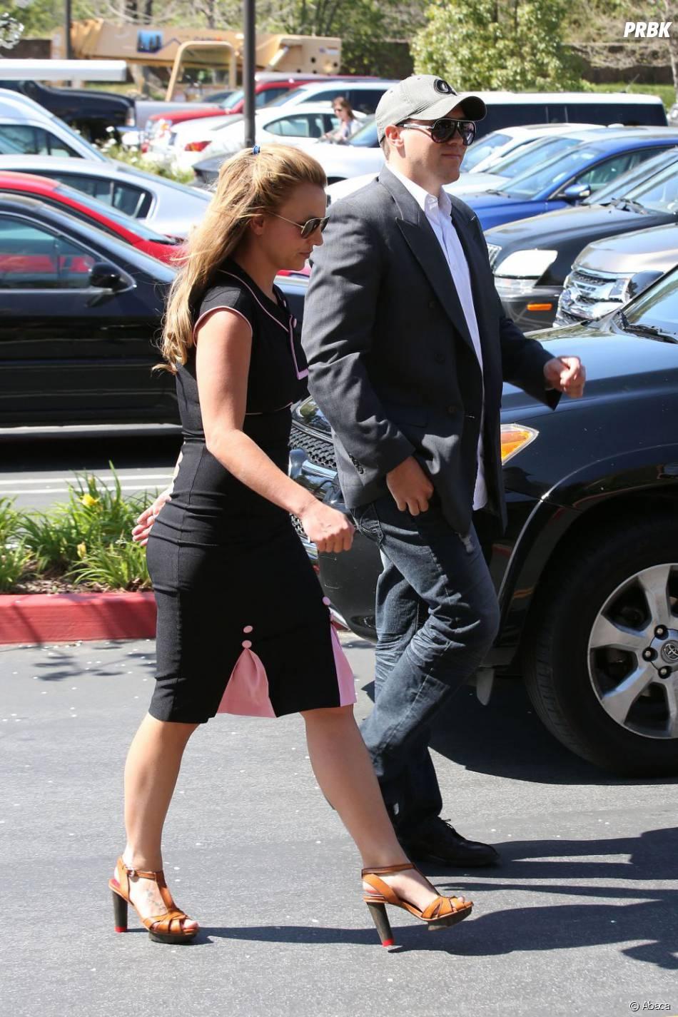 """Britney Spears et son petit-ami, aussi """"stylés"""" l'un que l'autre"""