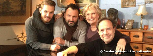 Matt Pokora, invité de la Parenthèse inattendue de Frédéric Lopez sur France 2 le 27 mars 2013