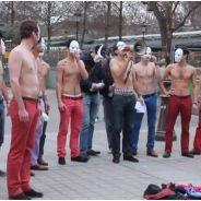 Hommen : les Femen masculins des anti mariage pour tous
