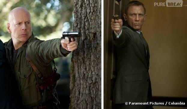 Futur duel Bruce Willis / James Bond ?