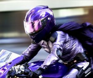 La belle moto de Hit-Girl