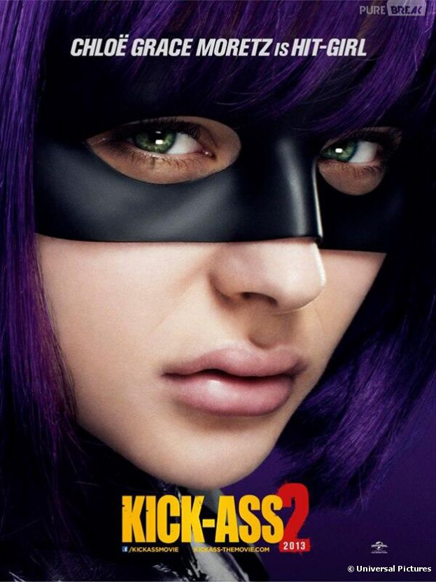 Hit-Girl s'affiche pour Kick Ass 2