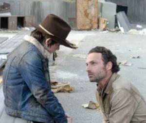 Rick et Carl en plein adieux ?