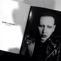 Marilyn Manson : nouveau visage de Saint Laurent