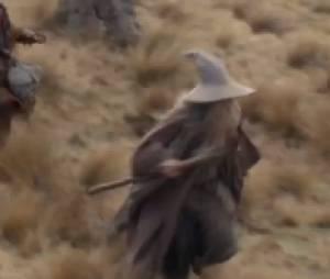 Les nains sont guidés par Gandalf