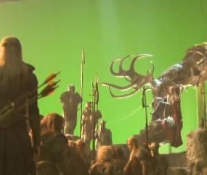 Beaucoup de fonds verts pour The Hobbit 2