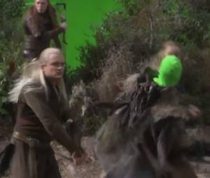 Legolas passe à l'attaque