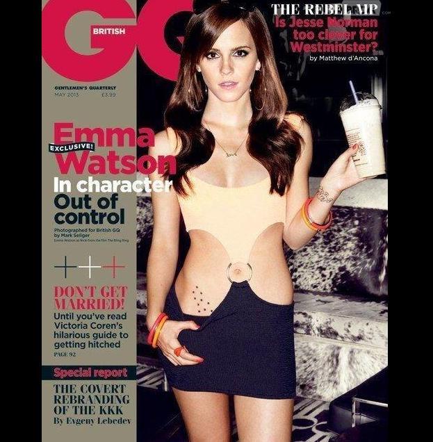 Emma Watson se la joue sexy pour GQ