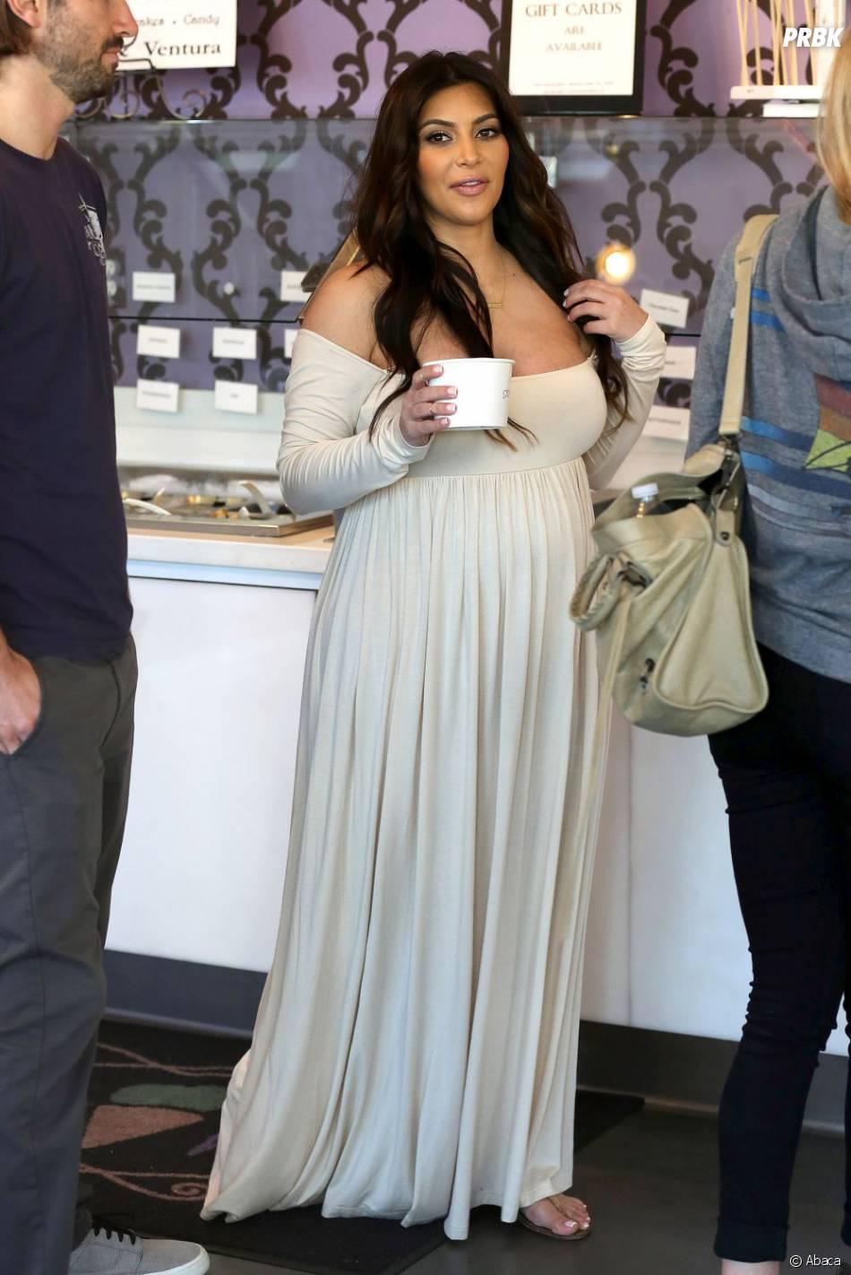 Une petite glace pour Kim Kardashian !