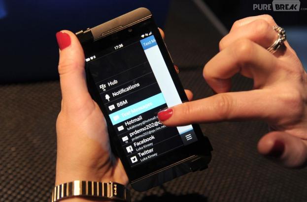 Faites attention où vous surfez avec votre Blackberry Z10