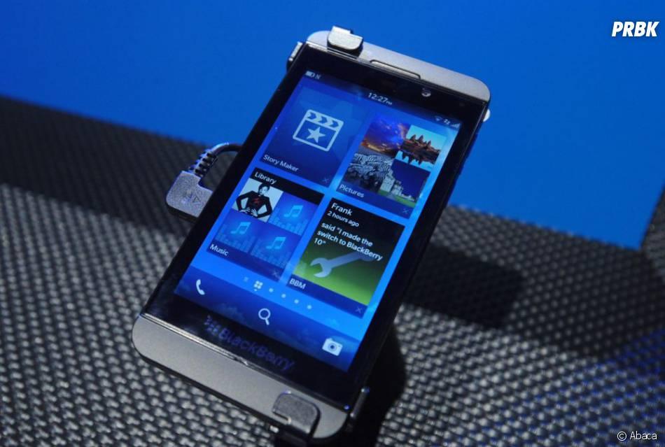Blackberry Z10, le portable que les internautes un peu coquins vont redouter