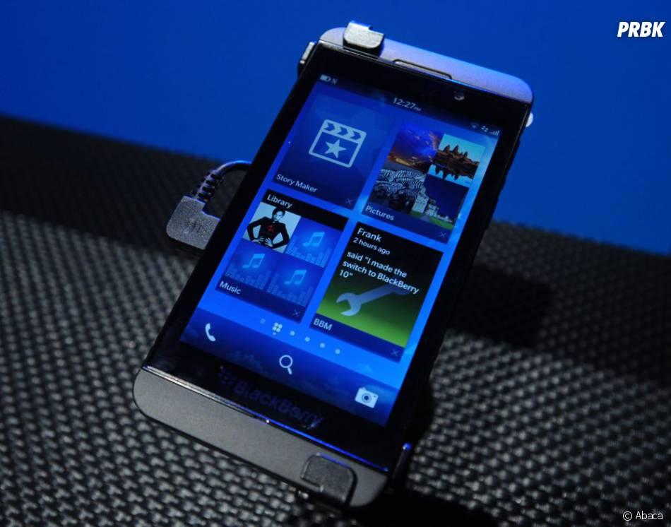 Un aperçu de Blackberry 10 disponible sur iOS et Android