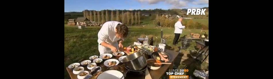 Les candidats de Top Chef 2013 vont cuisiner dans des conditions pour le moins rudimentaires...