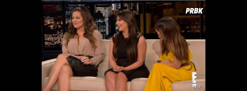 La nouvelle fait rire les soeurs Kardashian