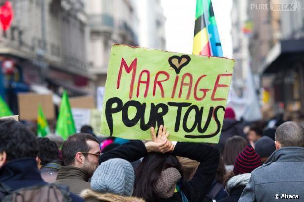 5 000 partisans du mariage pour tous et de l'égalité ont protesté contre l'homophobie ambiante