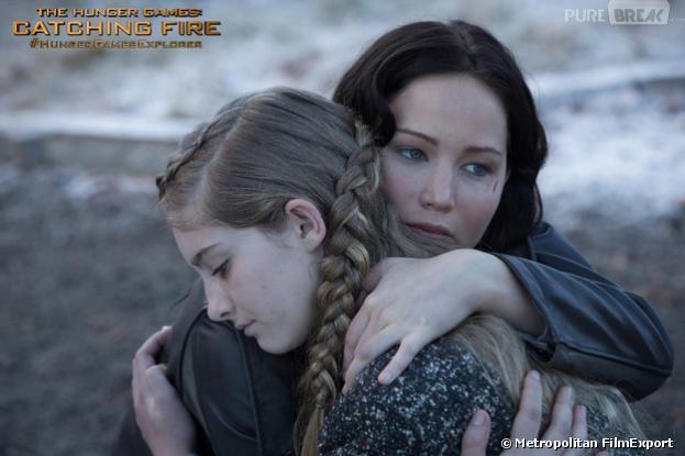 Katniss console Prim dans Hunger Games 2
