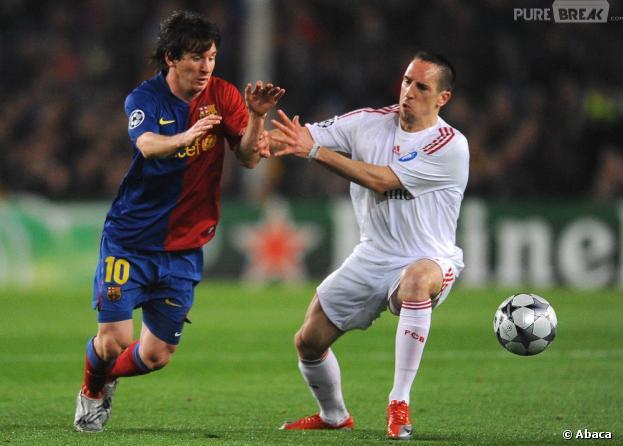 Lionel Messi affrontera Franck Ribéry