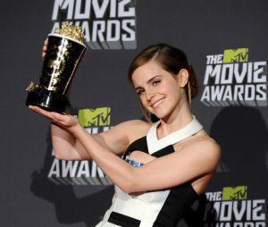 Un prix d'honneur pour Emma Watson aux MTV Movie Awards 2013