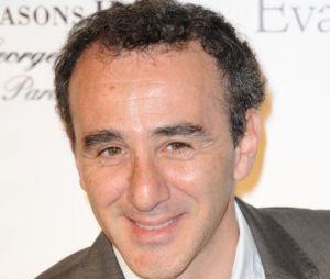 Elie Semoun était présent sur le plateau du Grand Journal pour présenter la météo.