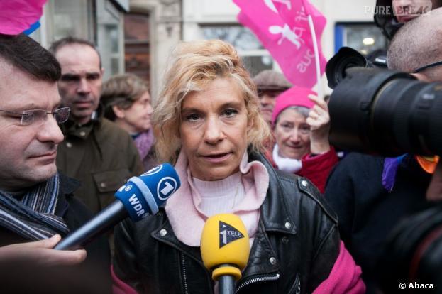 Frigide Barjot a été reçu par le ministre de l'Intérieur Manuel Valls