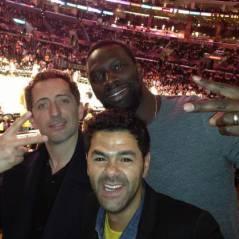 Gad Elmaleh, Jamel Debbouze et Omar Sy : match de NBA entre potes, elle est pas belle la vie ?