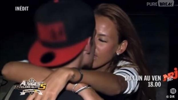 Vanessa et Geoffrey, bisou volé dans une bande-annonce des Anges de la télé-réalité 5