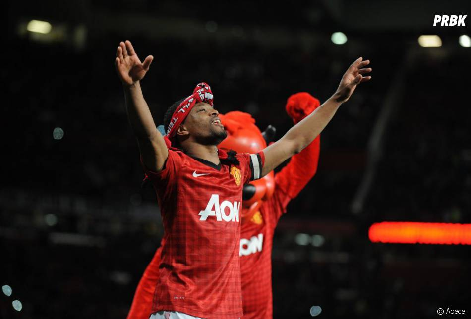 Patrice Evra, capitaine heureux de Manchester United