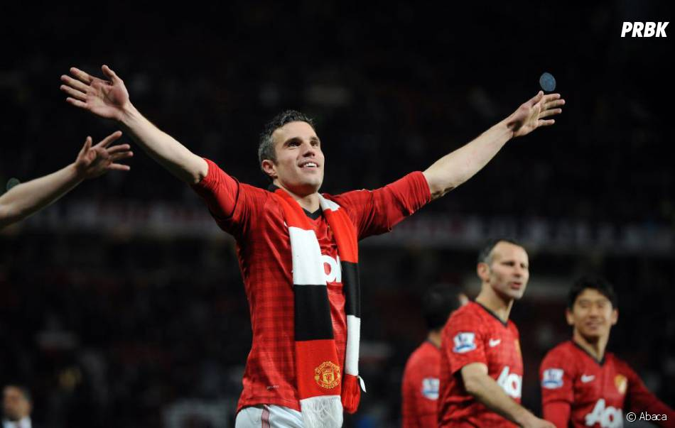 Robin Van Persie a offert la victoire à Manchester United