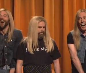 Bradley Cooper, Zach Galifianakis et Ed Helms imitent Jenifer Aniston