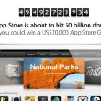 Le compte à rebours des téléchargements de l'App Store