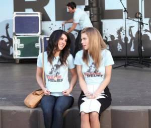 Annie et Naomi toujours aussi proches dans le final de 90210