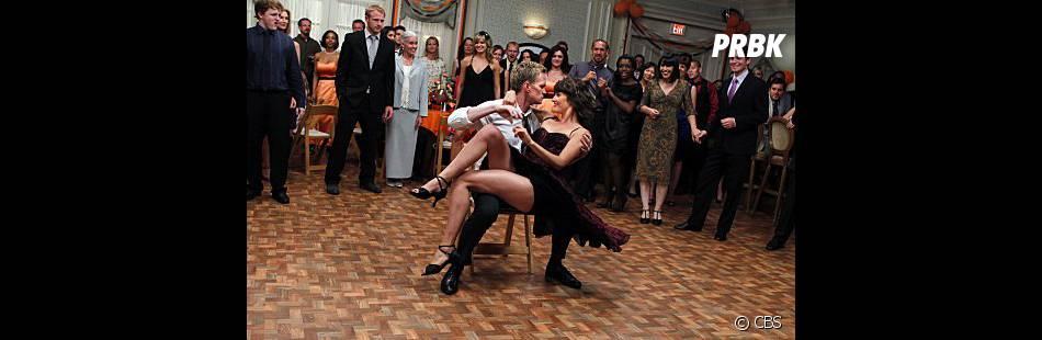 La meilleure intrigue de l'épisode revient à Barney et Robin dans le final de la saison 8 de How I Met Your Mother