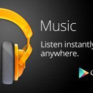 Google Play Music : le concurrent de Spotify et de Deezer est lancé