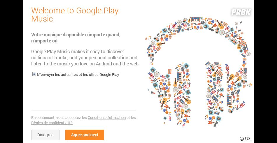 how to stream google play music