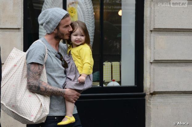 Harper pourra profiter à temps plein de son papa David Beckham retraité