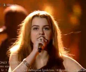 La prestation de la gagnante danoise Emmelie de Forest pour l'Eurovision 2013
