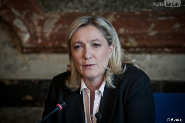 Marine Le Pen a chuté dans sa piscine vide