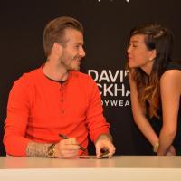 David Beckham à Paris : hystérie devant la boutique H&M