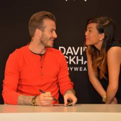David Beckham à Paris : hystérie devant la boutique H&M
