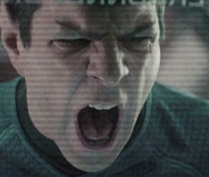 Spock menacé dans un message pirate dans Stark Trek Into Darkness