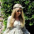 Kimberly Stewart en solo pour la baby shower de Kim Kardashian