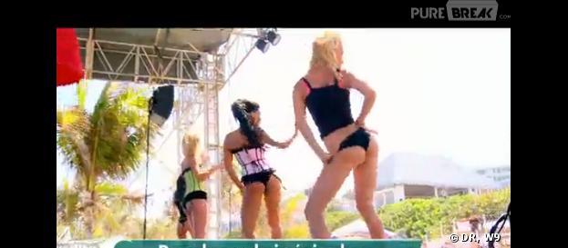 Danse sexy pour les filles dans Les Marseillais à Cancun