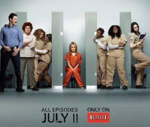 Poster de Orange is the New Black, nouvelle série de Netflix