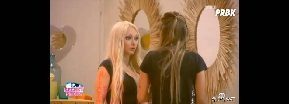 Secret Story 7 : Anaïs se confie à Florine sur le rapprochement Julien/Tara.