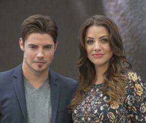 Dallas :Josh Henderson accompagnée de Julie Gonzalo à Monte Carlo