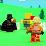 Fête des pères 2013 : Dark Vador papa modèle dans une vidéo décalée LEGO