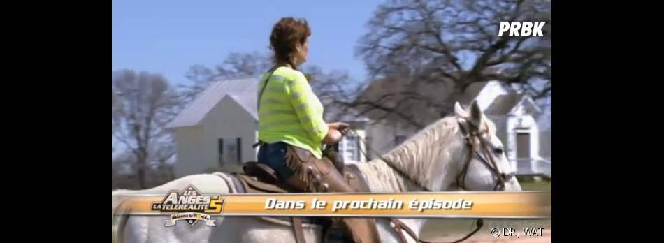 Les Anges 5 : Frédérique à cheval au Texas.