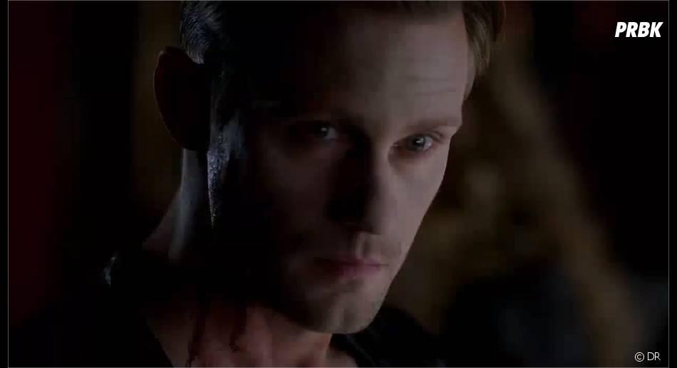 Alexander Skarsgard (Eric) dans l'épisode 2 de la saison 6 de True Blood