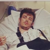 Glee : un acteur blessé après un accident