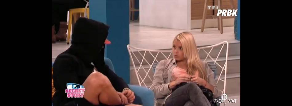 Secret Story 7 : Alexia reproche à Florine d'être trop sûre d'elle.